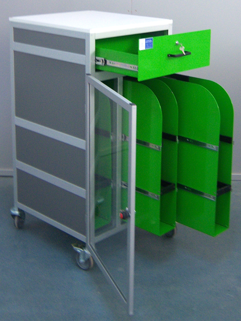 WORKSTATIONS AND TECHNICAL FURNITURE<br />Template Storage cabinet
