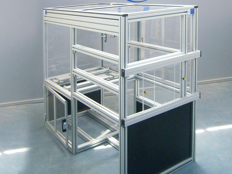 MACHINE FRAMES AND HOUSING<br />Machine frames